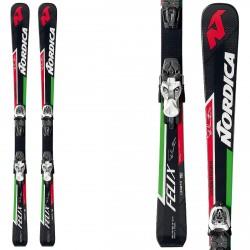 Ski Nordica Dobermann Felix Pros + bindings M7.0 Fastrack II