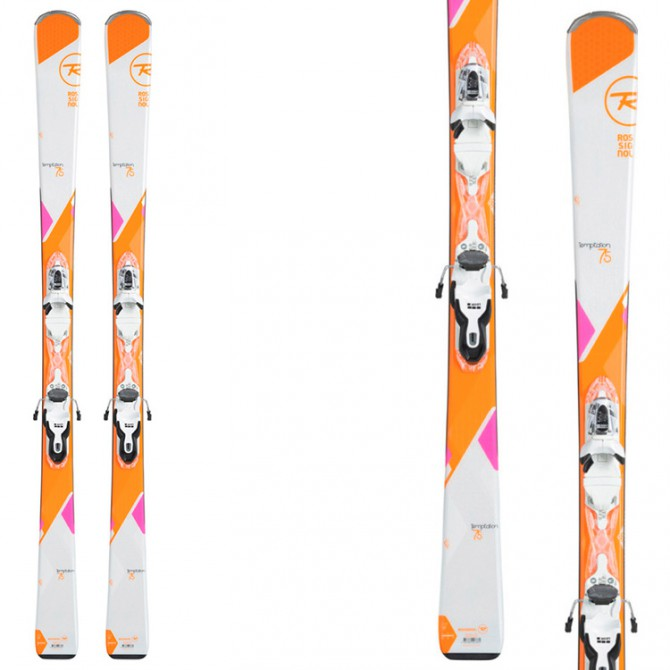 Ski Rossignol Temptation 75 + bindings Xpress W 10 B83
