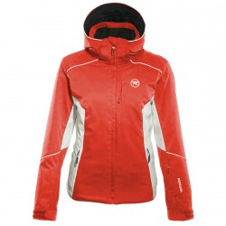 Ski jacket Rossignol Frost Woman coral