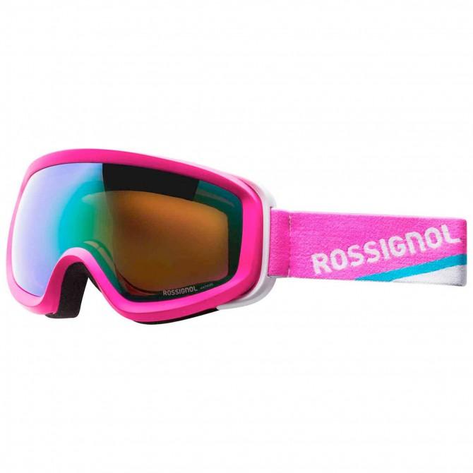 Maschera sci Rossignol Rg5 Hero rosa