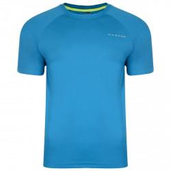 T-shirt running Dare 2b Endgame Hombre turquesa
