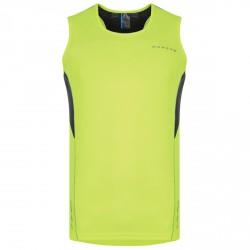 Camiseta running Dare 2b Instigate Hombre amarillo