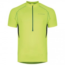 T-shirt running Dare 2b Jeopardy Uomo lime