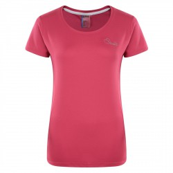 T-shirt running Dare 2b Impulse Donna fucsia