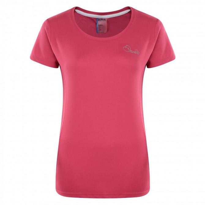 T-shirt running Dare 2b Impulse Donna fucsia