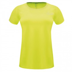 T-shirt running Dare 2b Impulse Femme jaune