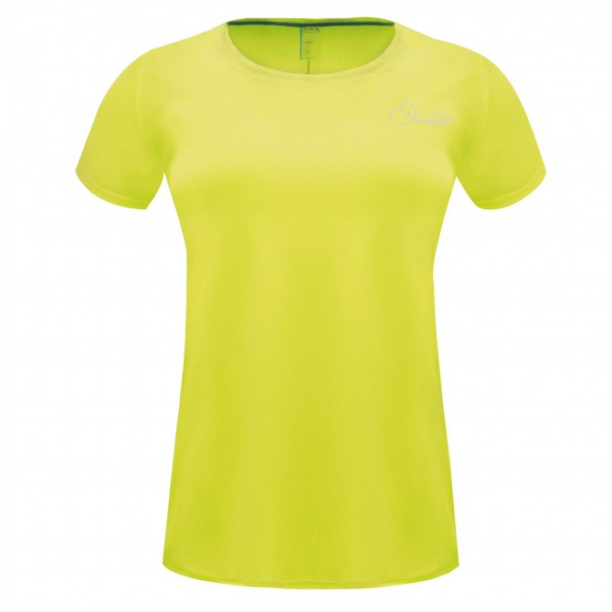 T-shirt running Dare 2b Impulse Donna giallo