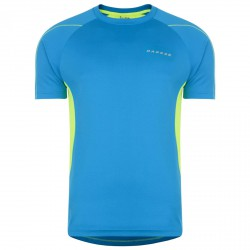 T-shirt running Dare 2b Exploit Hombre turquesa