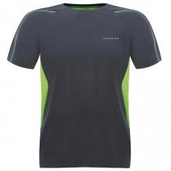 T-shirt running Dare 2b Exploit Hombre gris