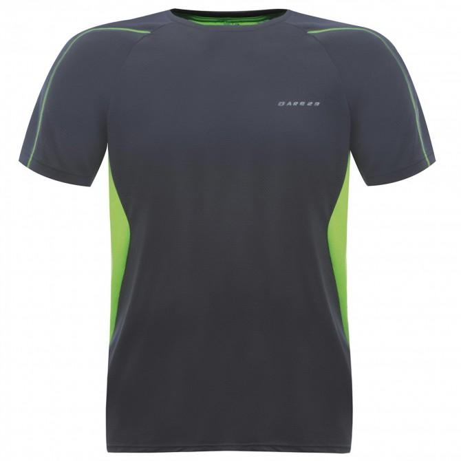 T-shirt running Dare 2b Exploit Uomo antracite