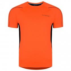 T-shirt running Dare 2b Exploit Hombre naranja