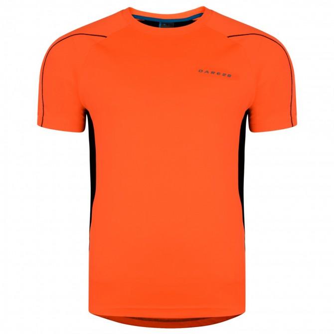 T-shirt running Dare 2b Exploit Uomo arancione