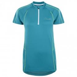 T-shirt running Dare 2b Configure Femme turquoise