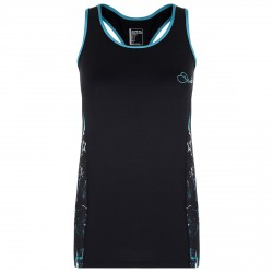 Running vest Dare 2b Inflexion Woman black-turquoise