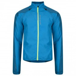 Windproof running jacket Dare 2b Unveil Man turquoise