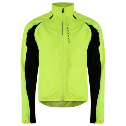Windproof running jacket Dare 2b Unveil Man yellow
