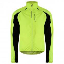Windproof running jacket Dare 2b Unveil Man yellow