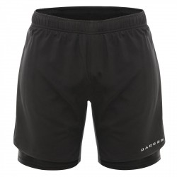 Shorts running Dare 2b Oscillate Hombre negro