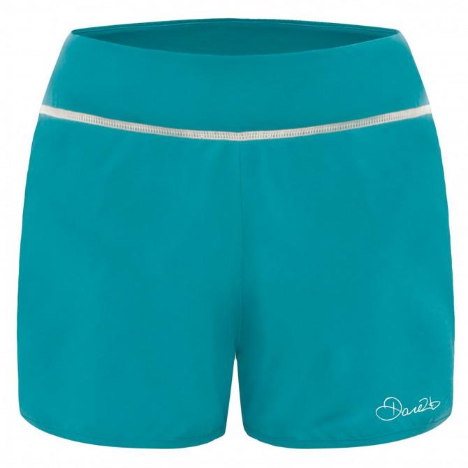 Shorts running Dare 2b Succession Donna verde acqua