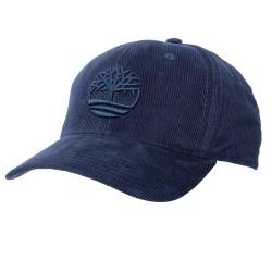 Cappello Timberland Corduroy Tree Logo Uomo blu