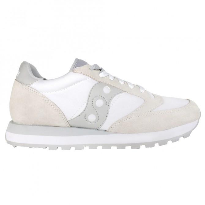 Sneakers Saucony Jazz Original Femme blanc-gris