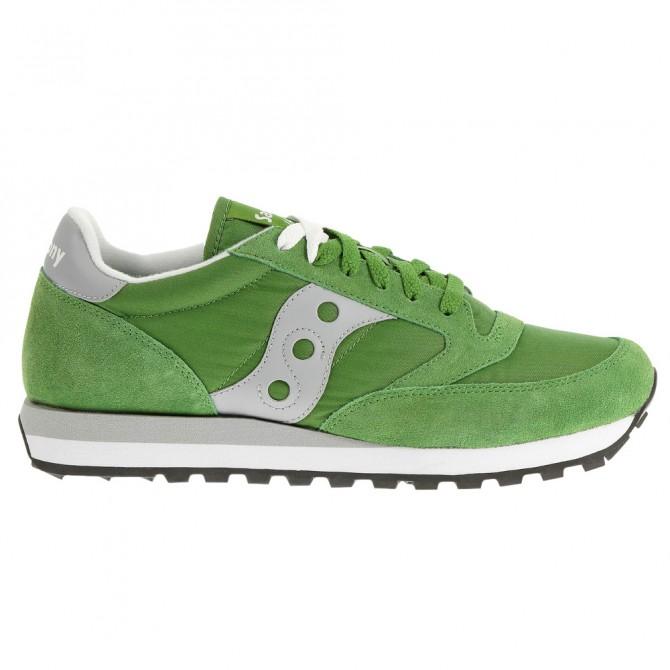 Sneakers Saucony Jazz Original Mujer verde-gris