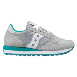 Sneakers Saucony Jazz Original Donna grigio-turchese