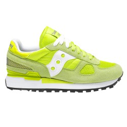 Sneakers Saucony Shadow Donna verde-bianco