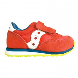 Sneakers Saucony Jazz HL Baby rouge-bleu-lime