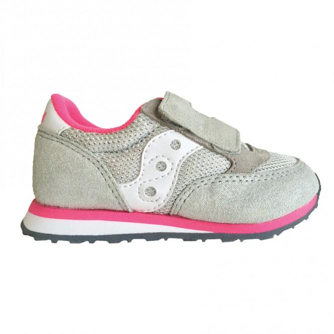 Sneakers Saucony Jazz HL Baby argento-rosa SAUCONY Scarpe moda