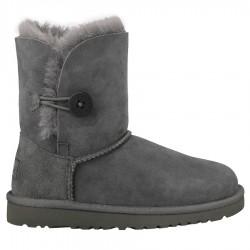 boots Ugg Bailey Button gray Girl (30-33)