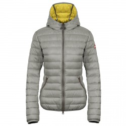 Hooded down jacket Colmar Originals Punk Woman grey