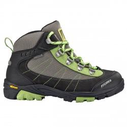 Zapatos trekking Tecnica Makalu Gtx Junior gris-lime (28-33)