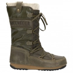 Après ski Moon Boot W.E. Monaco Mix Woman green