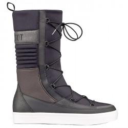 Après ski Moon Boot We Vega Hi Tf Femme noir-gris