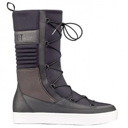 Après ski Moon Boot We Vega Hi Tf Mujer negro-gris