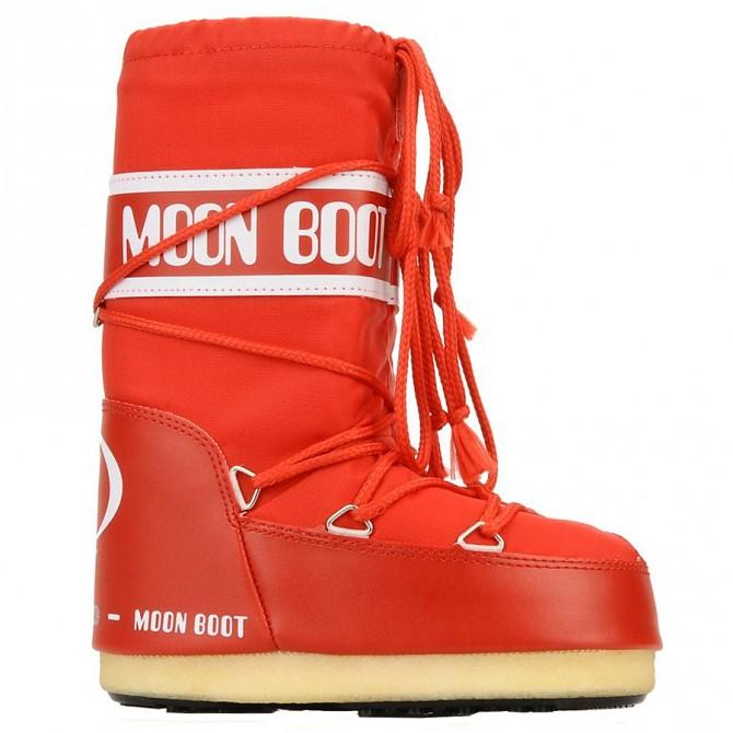 Après-ski Moon Boot Nylon Man red