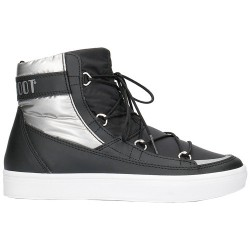 Après-ski Moon Boot W.E. Vega Woman black-silver