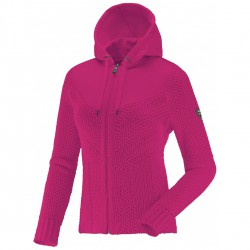 Ski sweater Degré 7 Gramusset Woman fuchsia