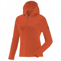 Ski sweater Degré 7 Gramusset Woman orange