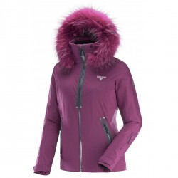 Ski jacket Degré 7 Vraie Bise Woman purple