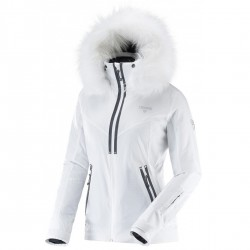 Ski jacket Degré 7 Vraie Bise Woman white