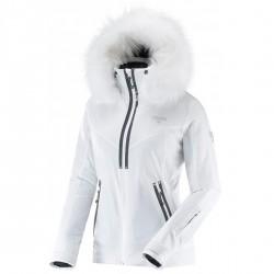 Ski jacket Degré 7 Vraie Bise Woman white