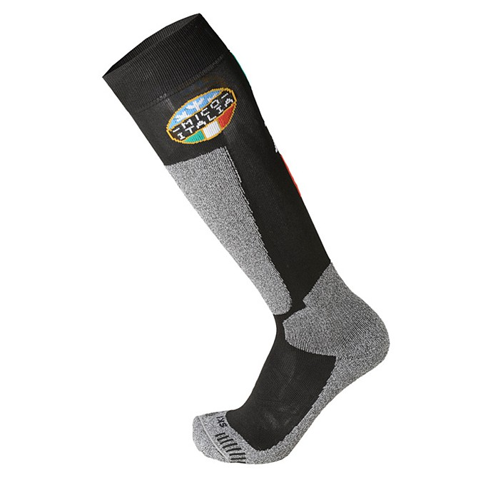 Calcetines esquí Mico Official Ita Medium negro