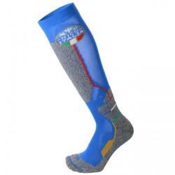 Calcetines esquí Mico Official Ita Niño azul claro