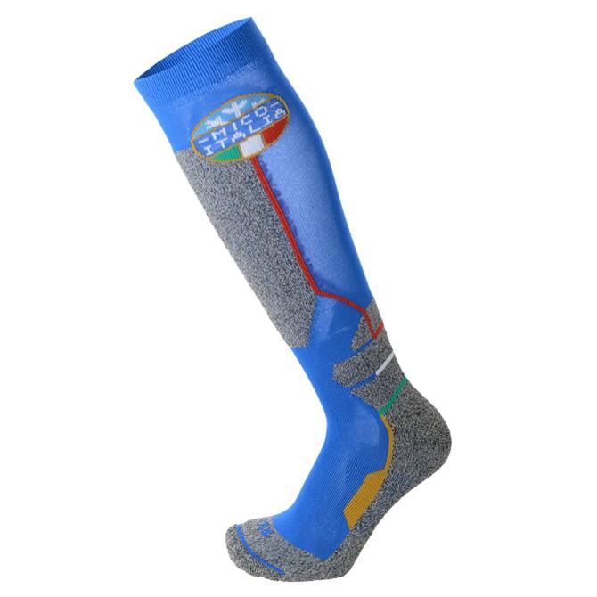 Ski socks Mico Official Ita Junior light blue