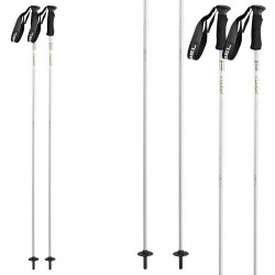 Ski poles Gabel Sunrise white