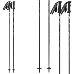 Ski poles Gabel Sunrise black