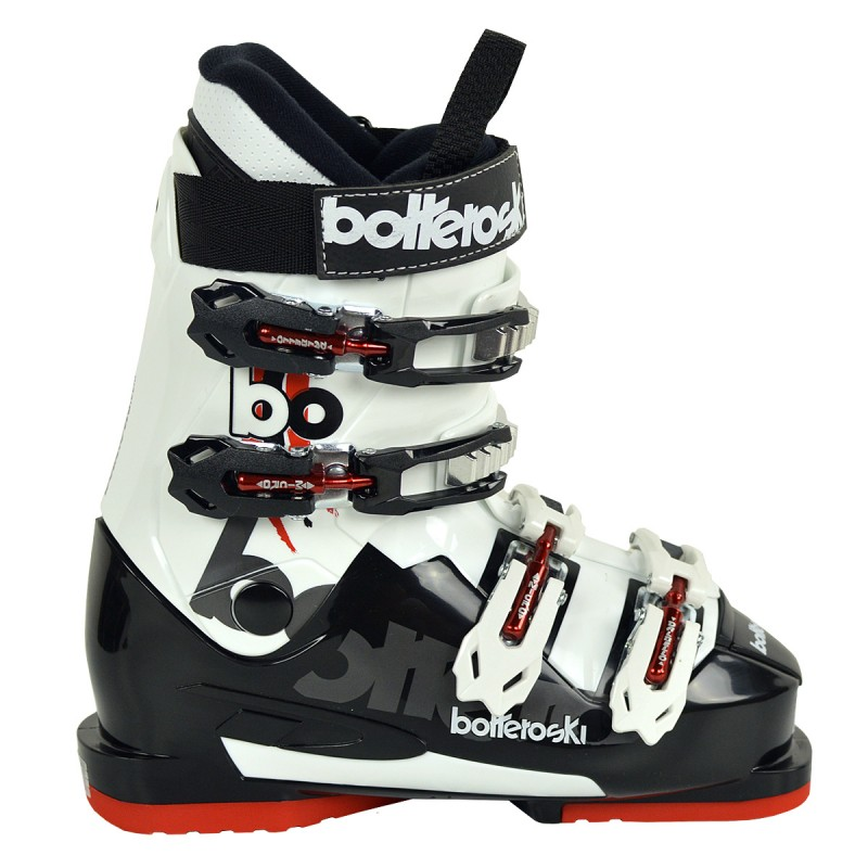 scarponi sci Bottero Ski On Piste 60 Junior (Colore: bianco-nero-giallo, Taglia: 20)