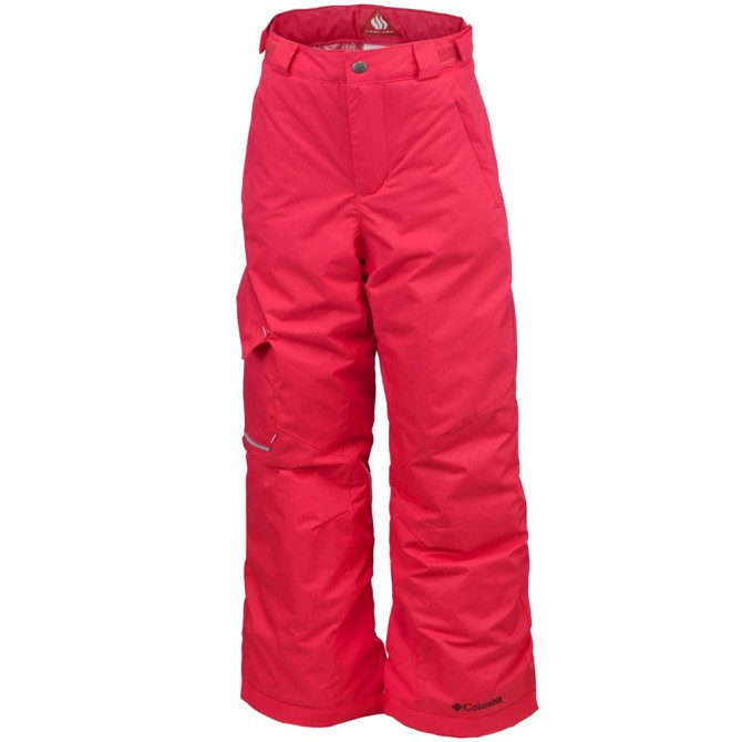 Pantalone sci Columbia Bugaboo Bambina corallo